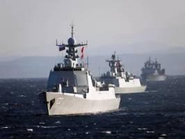 spannungen mit dem westen: china und russland bauen militär-kooperation aus