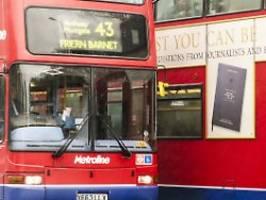 wechsel in logistikbranche: den briten gehen die busfahrer aus