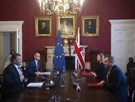 Weihnachten als Argument: Gespräche über Brexit-Regeln gehen weiter