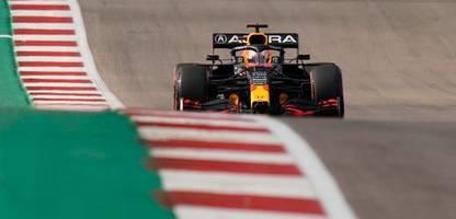 Formel 1 in Texas: Max Verstappen sichert Pole vor vor Lewis Hamilton
