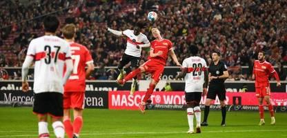 Fußball-Bundesliga: Union Berlin vergibt Sieg gegen VfB Stuttgart in Unterzahl in der Nachspielzeit