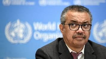 corona-pandemie - who-ziel: 40 prozent impfrate in jedem land bis jahresende