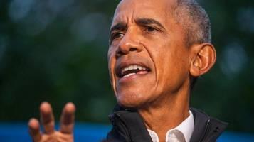 Wahlkampfauftritt in Virginia: Barack Obama teilt scharf gegen Republikaner aus