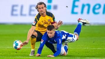 2. Liga: Schalke schießt sich auf Platz zwei - Sieg gegen Dresden