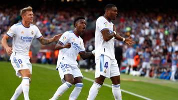 Spanische Liga - Mit traumhaftem Debüt-Tor für Real leitet Alaba Sieg im Clásico gegen Barcelona ein