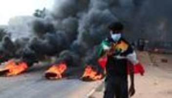 sudan: tote und verletzte bei protesten gegen militärputsch