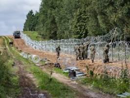 10.000 Soldaten im Einsatz: Polen stockt Grenzschutz zu Belarus auf