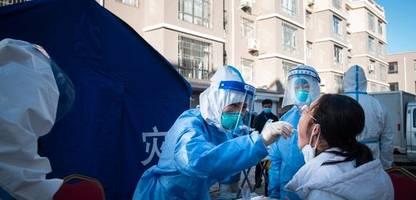 china: lockdown für zehntausende menschen