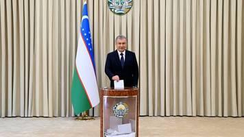 Präsidentenwahl - Wahl in Usbekistan: Endergebnis und OSZE-Urteil erwartet