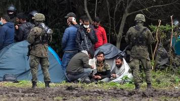 migration über belarus: polen stockt zahl der soldaten an grenze auf