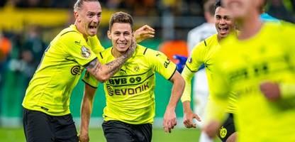 DFB-Pokal: Borussia Dortmund besiegt FC Ingolstadt – dank Joker Thorgan Hazard