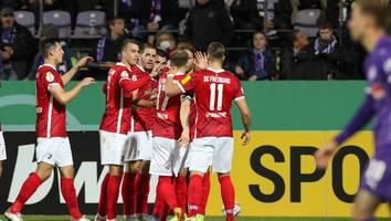 DFB-Pokal - Höchstspannung! Alle drei Abendspiele gehen in die Verlängerung